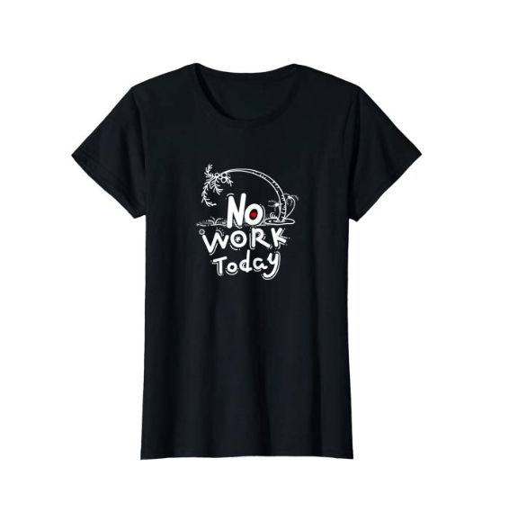 SULANG Travel The World No Work Today Women's Lightweight Cotton T-Shirt - SULANG