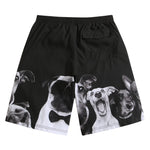 SULANG Men's Ultra Quick Dry Board Shorts No Mesh Lining, Puppy Lover - SULANG