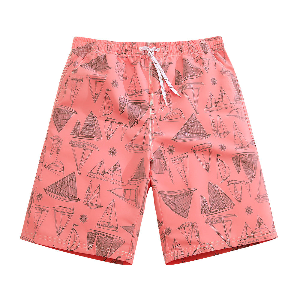 SULANG Men's Ultra Quick Dry Board Shorts No Mesh Lining, Sailboard - SULANG