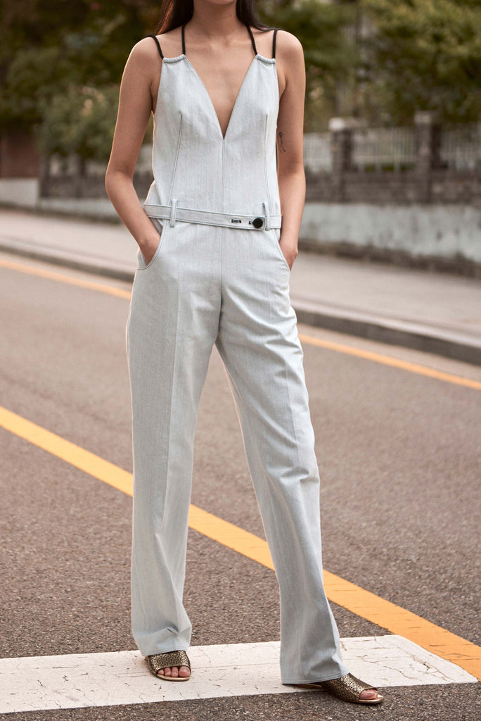HAN PALE DENIM JUMPSUIT