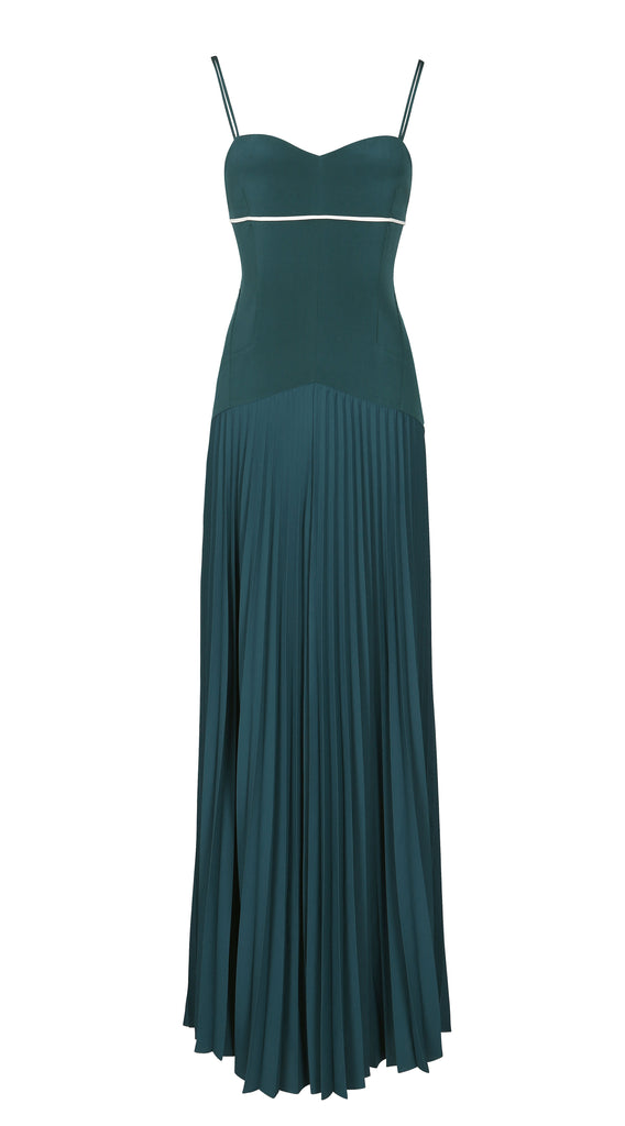 ATELIER PLEATED GOWN