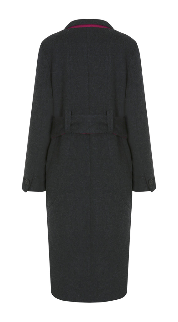 CHAUD DOUBLE FACED WOOL COAT