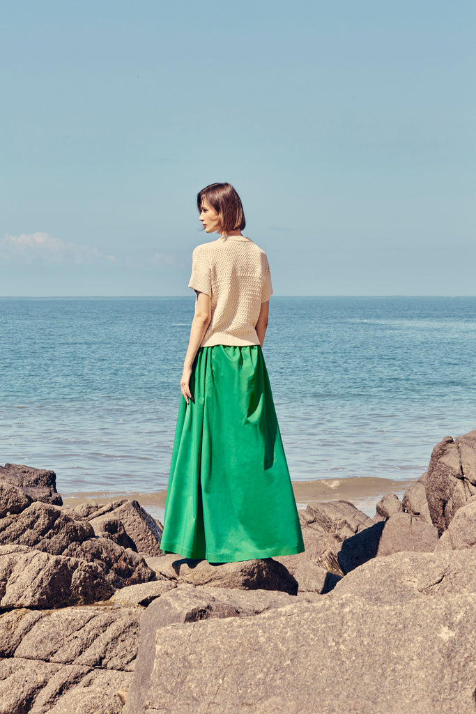 FARO COTTON POPLIN SKIRT