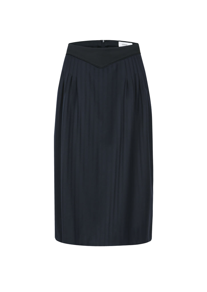 INES PLEATED SKIRT
