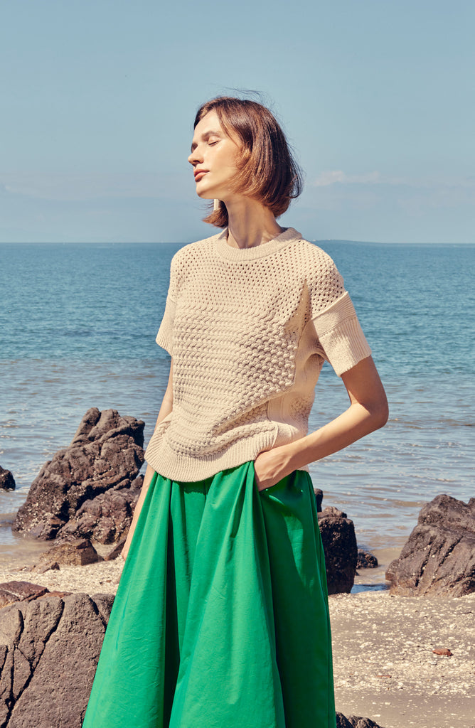 ALGARVE COTTON SWEATER