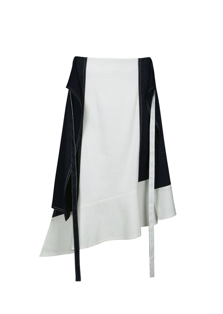 LITHOGRAPHY JACQUARD SKIRT