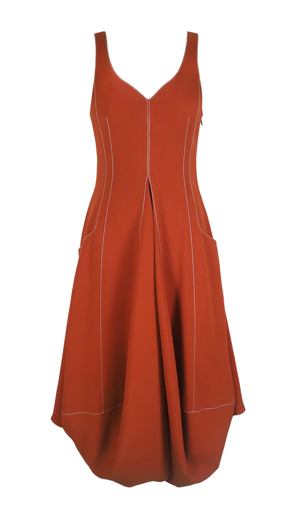 NEUL CREPE DRESS