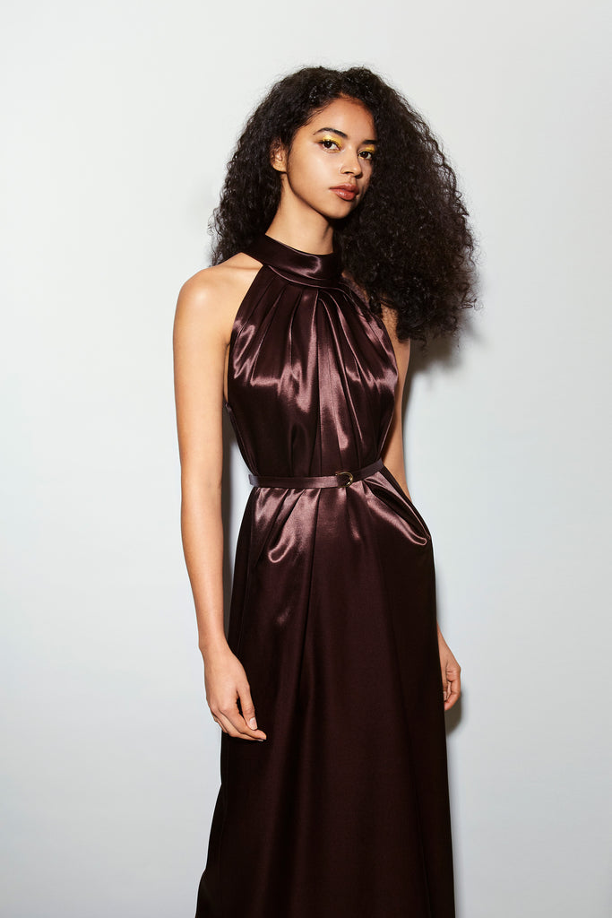 OPHELIE SATIN DRESS