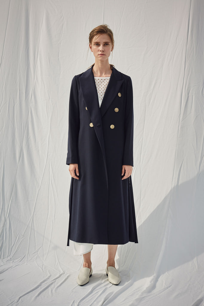 OUROBOROS WOOL COAT