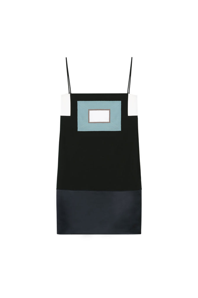 ORDINE WINDOW CAMISOLE DRESS