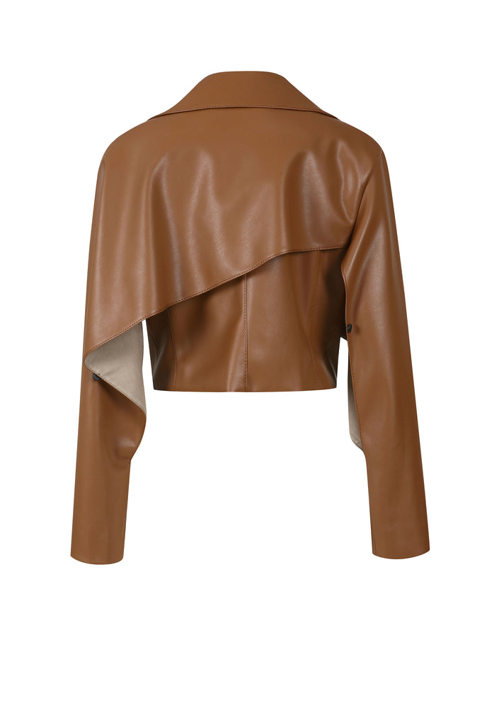 PIETRA VEGAN LEATHER JACKET