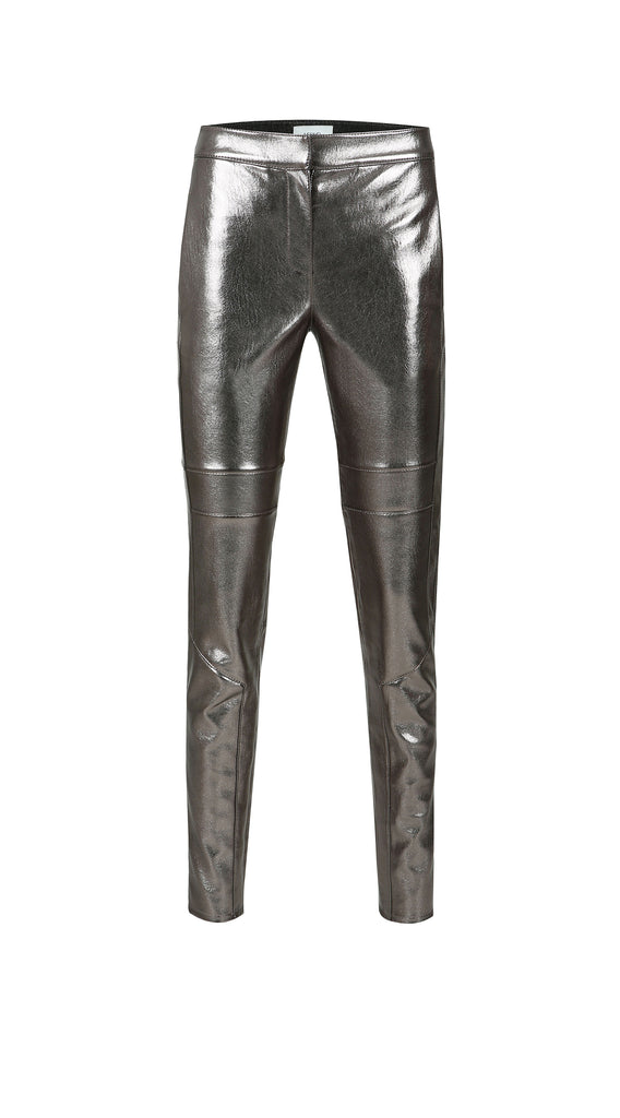 STELLA METALLIC VEGAN LEATHER PANT