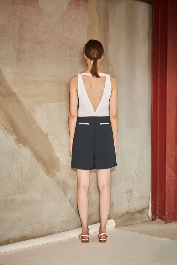 STUDIO OPEN BACK ROMPER