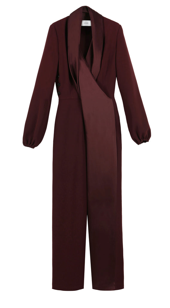 VEGA FLUID CREPE SATIN JUMPSUIT