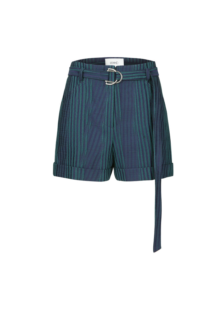 WOODCUT JACQUARD SHORTS