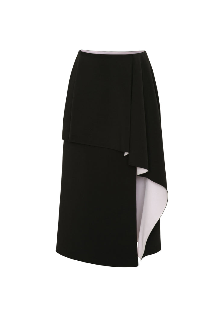 ZLATA STRETCH CREPE SKIRT