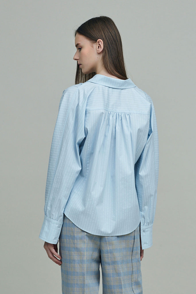MURCIA STRIPED OVERSIZED SHIRT