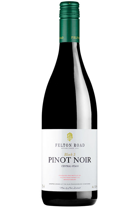 Felton Road Block 3 Pinot Noir 2016 (750ml)