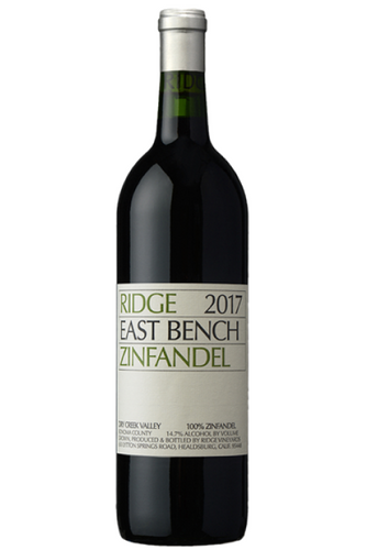 Ridge East Bench Zinfandel 2017 (750ml)