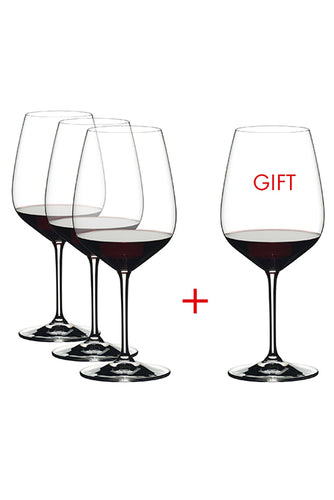 Riedel Extreme Cabernet/Merlot Wine Glassware (Pay 3 Get 4)