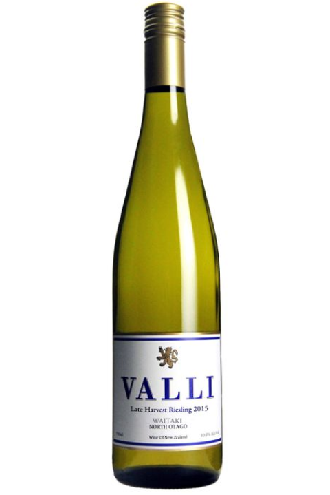Valli Waitaki Late Harvest Riesling 2015 (750ml)