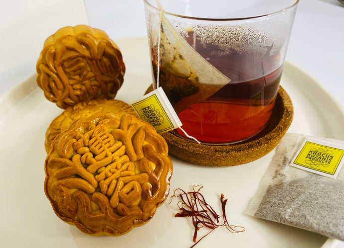 Mooncake + Greek wellness tea [Digestion & Wellness]