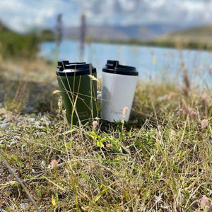 Sustainable Reusable Cafe Coffee/Tea Cups (12oz)