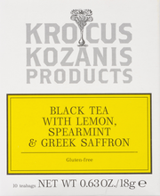 Load image into Gallery viewer, 🎁 Premium Greek Wellness Gift (2 Organic Greek Red Saffron + 2 Greek Saffron Tea)