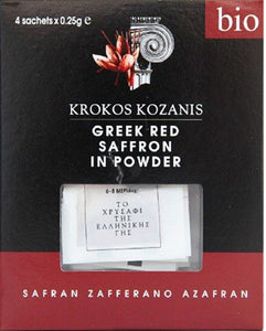 🎁 Premium Greek Wellness Gift (2 Organic Greek Red Saffron + 2 Greek Saffron Tea)