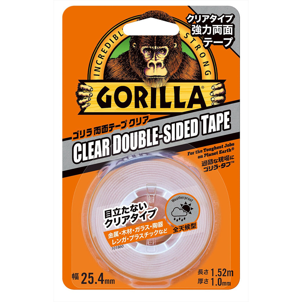 GORILLA 両面テープ クリア【ゴリラ】