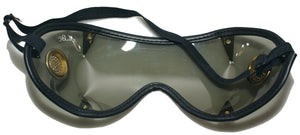 Vintage motorcycle / skydiving wrap around goggle
