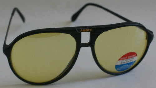 Vintage Sports Combo Aviator yellow sunglasses