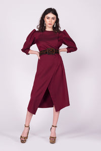 Rochie Mistery Red Wine