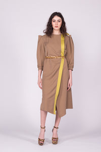 Rochie Mistery Camel
