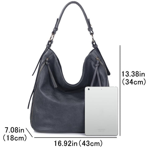 Ladies Hobo Bag Purse Faux Leather