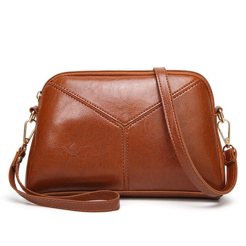 Travel Small Crossbody Bag PU Leather Mini Crossbody Purse - Katherleen
