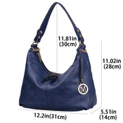 Leisure Women Shoulder Handbags PU Leather