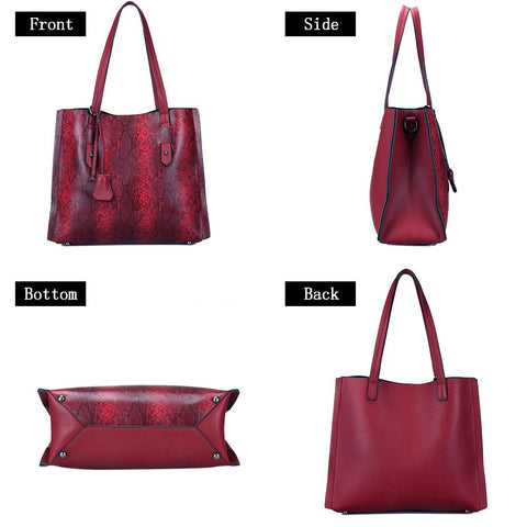 PU Leather Hobo Handbags Top-Handle Purse for Ladies - Katherleen