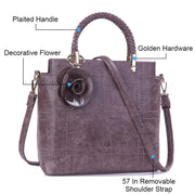 Shoulder Bag Top Handle Satchel Handbags Tote - Katherleen