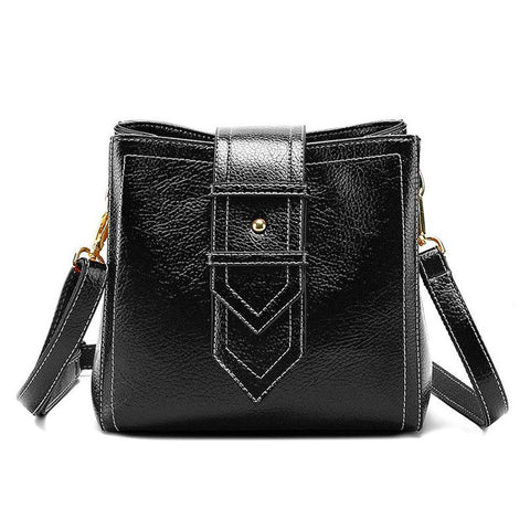Purses and Handbags PU Leather Flap Shoulder Bag Satchel - Katherleen