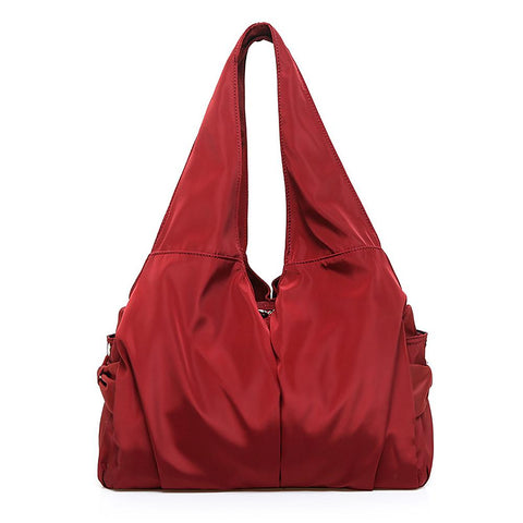 Lightweight Shopping Tote with Zipper Closure - Katherleen