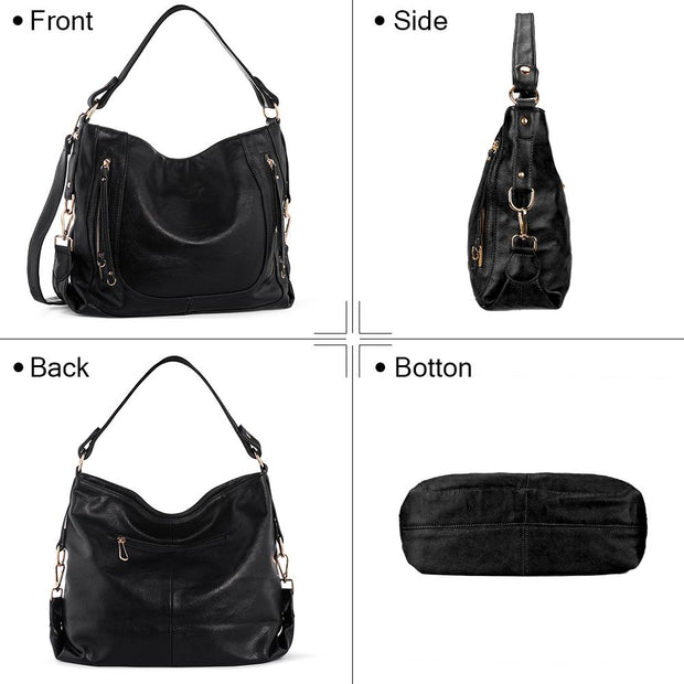 Women Bags Top Handle Purse PU Leather