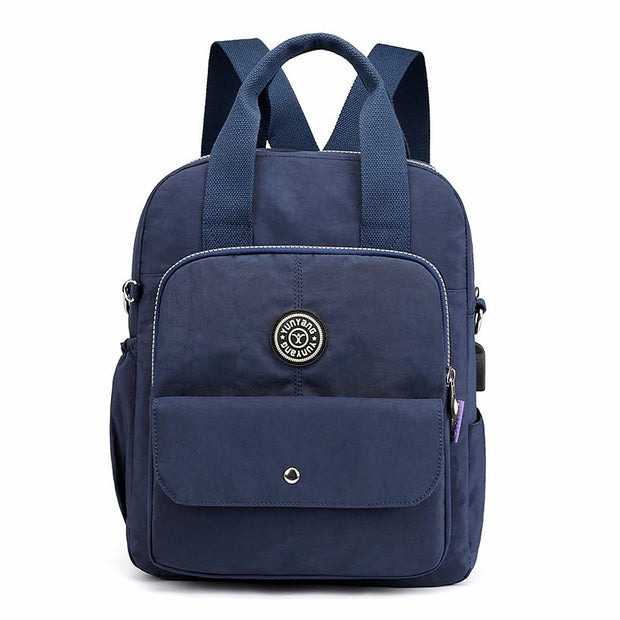 Waterproof Nylon Backpack Lightweight Daypack - Katherleen
