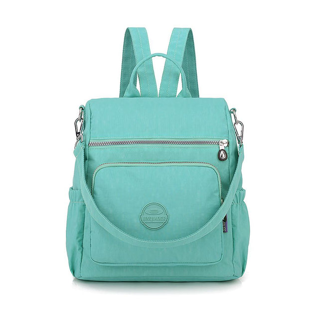 Nylon Backpack Crossbody Shoulder Bag Women - Katherleen