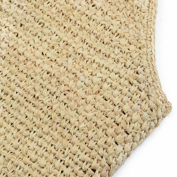 Straw Bags for Women Hand-woven Straw Purse - Katherleen