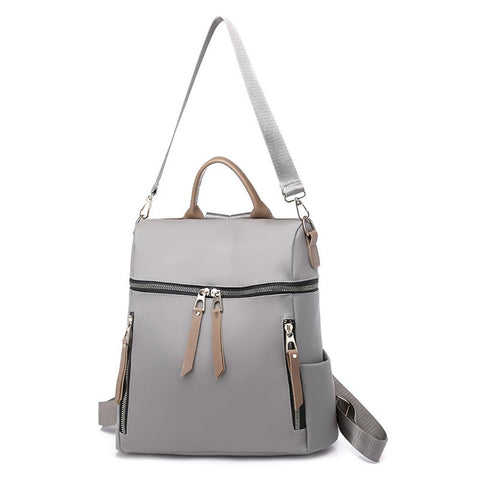 Women Backpack with Earphone Hole Bag