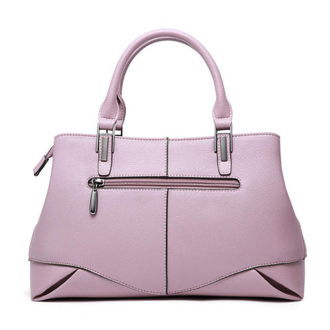 Genuine Leather Women Handbags Satchel Bag