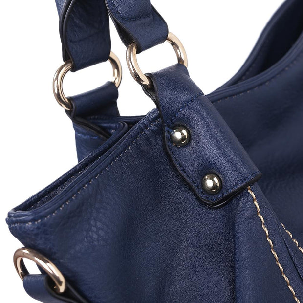 Women Top Handle Handbag 2 Set