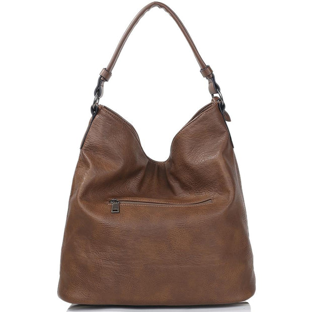 Leather Handbag Satchel Tote Bag