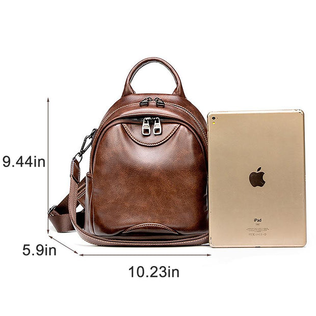 Fashion Backpack Purse Waterproof Shoulder Bag